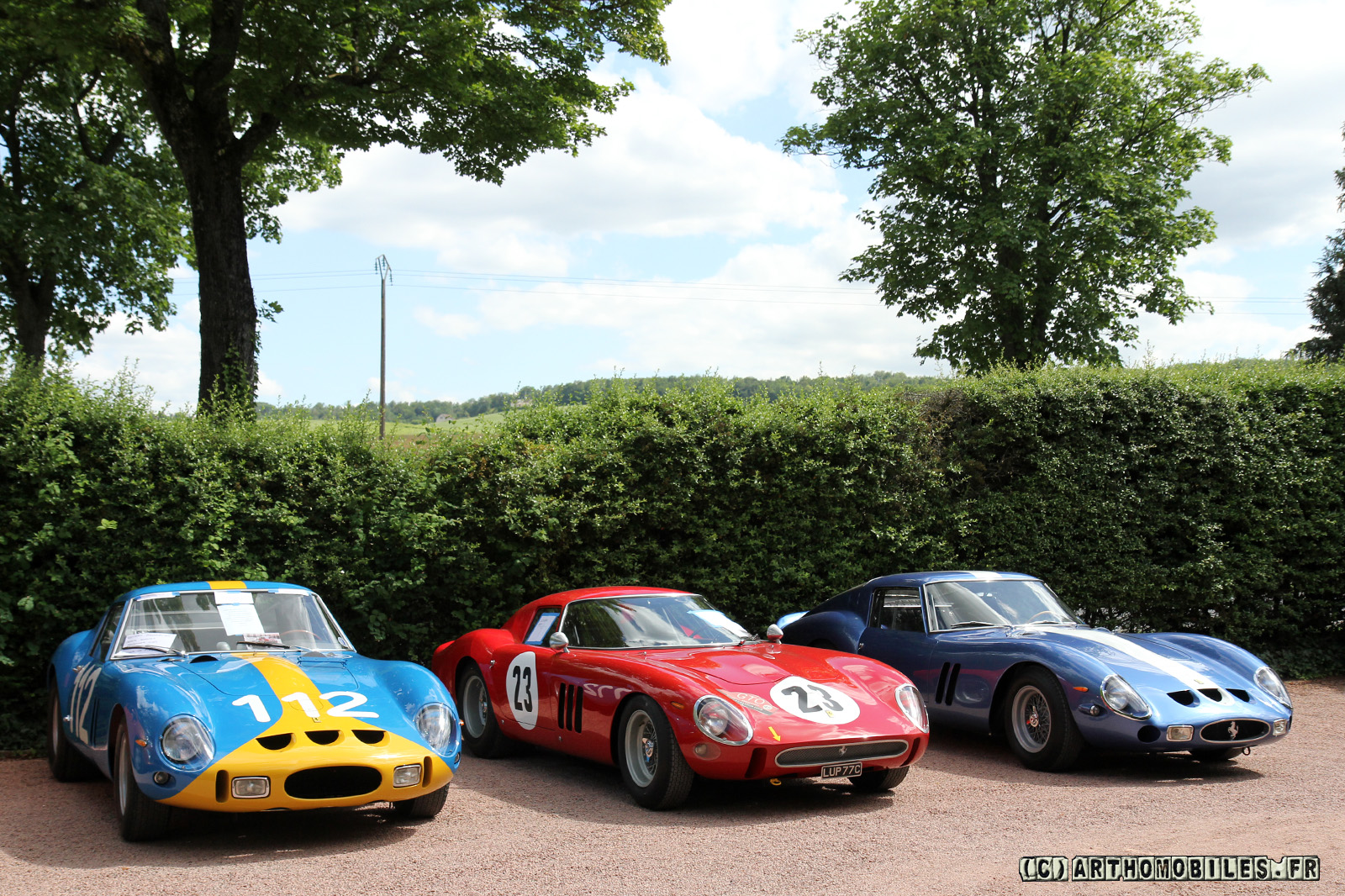 MODELART111 - 08 : 250 GTO set --> the 39 models